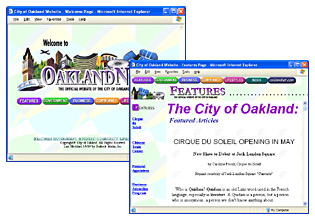 City of Oakland Website