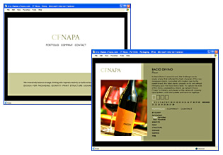 CF Napa Website