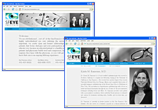 SF Eye Institute Website